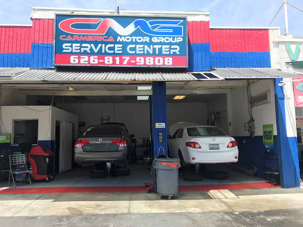 our service center