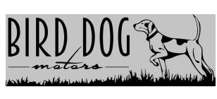 Bird Dog Motors Logo