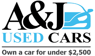 A and J Used Cars Concord Logo