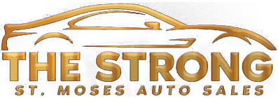 The Strong St. Moses Auto Sales Logo