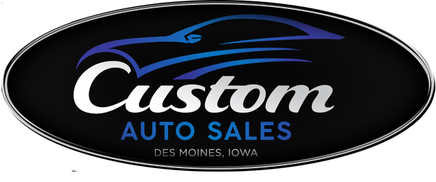 Custom Auto Sales Logo