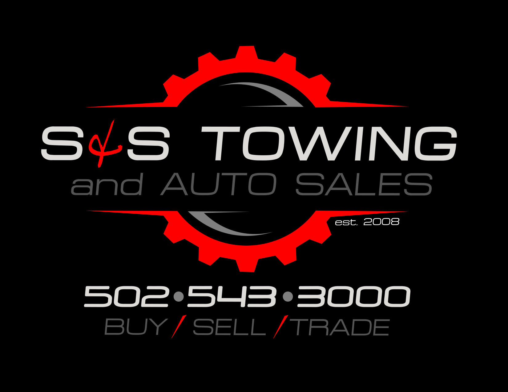 S&S Towing And Auto Sales Logo