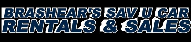 Brashear's Sav U Car Rentals & Sales Logo