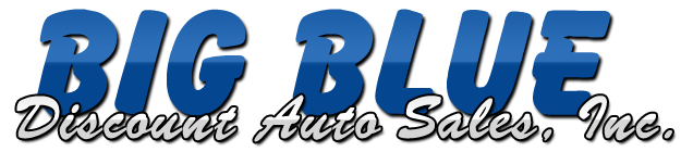 Big Blue Discount Auto Sales, Inc. Logo