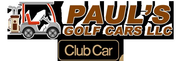 Paul's Golf Cars LLC Logo