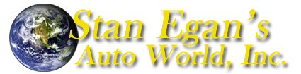 Stan Egan's Auto World Logo