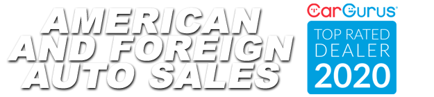 American and Foreign Auto Sales Logo