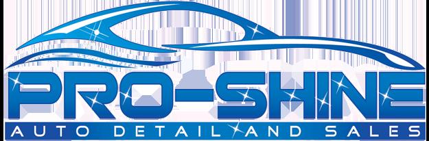 Pro Shine Auto Detail & Sales Logo
