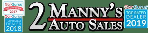 2 Mannys Auto Sales Logo