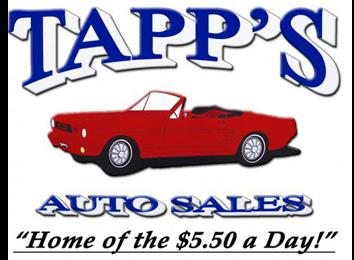 Tapp's Auto Sales Logo