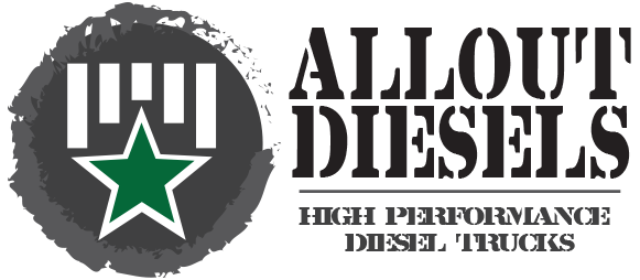 All Out Trucks and Diesels Logo