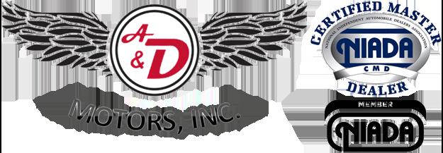 A & D Motors Logo
