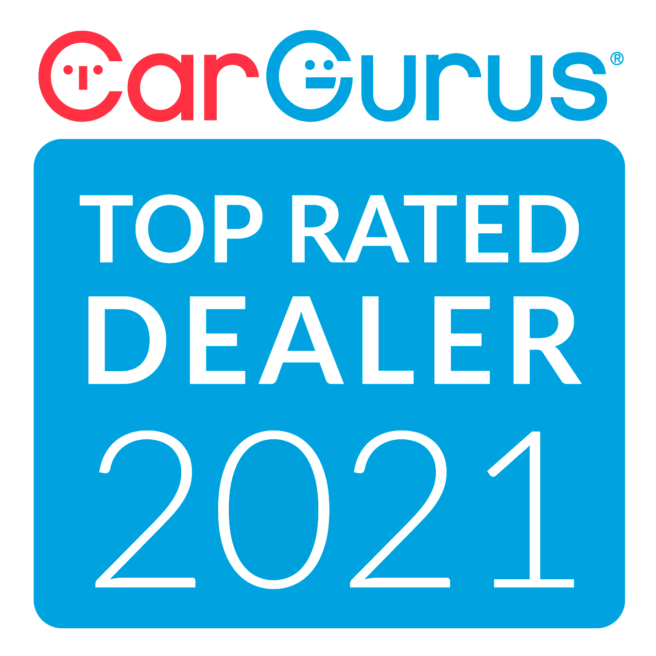 2021 Top Rated Dealer Badge