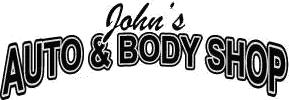 John's Auto And Body Shop Logo
