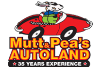 Mutt And Peas Autoland Logo