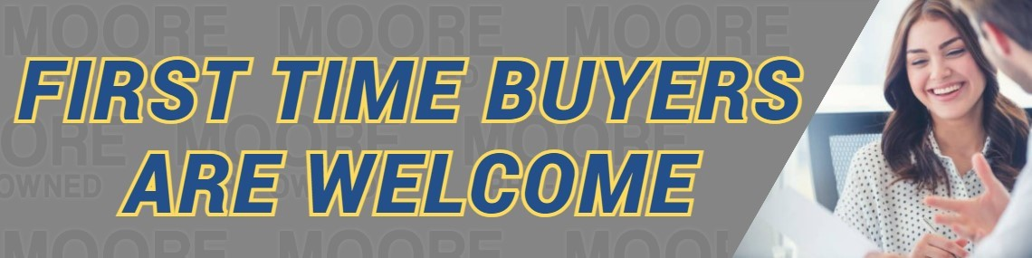 First time buyers are welcome