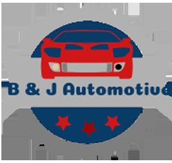 B & J Automotive Logo