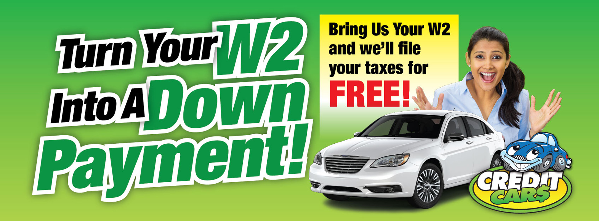 Turn Your W-2 Into A Down Payment