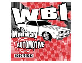 WBI Midway Automotive Parts Logo