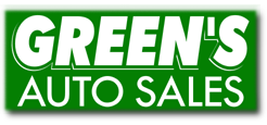 Green's Auto Sales Logo