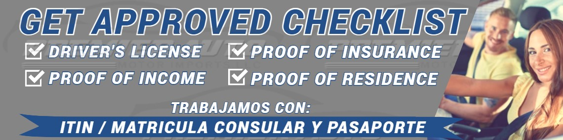 Get Approved Checklist