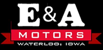 E & A Motors Logo