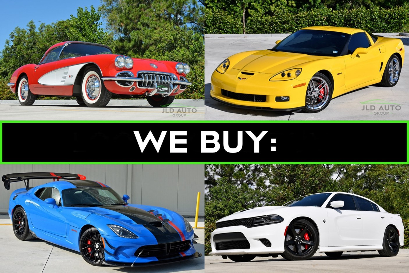 We Buy JLD Auto Group