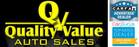 Quality Value Auto Logo