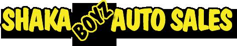 Shaka Boyz Auto Sales Logo