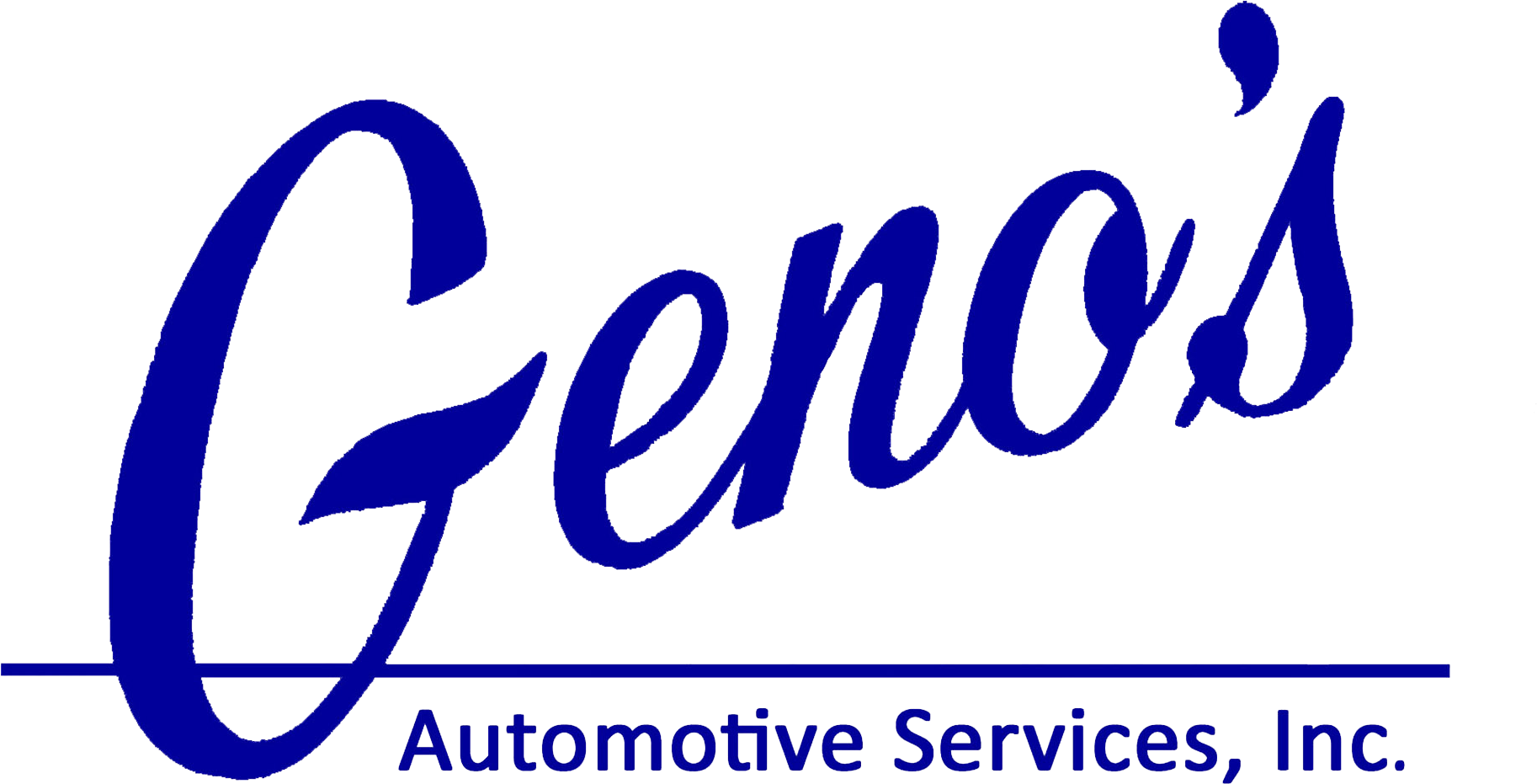 Geno's Automotive Service Logo