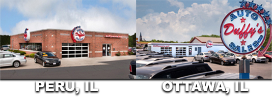 Picture of both Duffy's Auto Sales locations