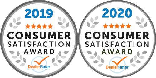 Dealer Rater 2019 Consumer Satisfaction Award