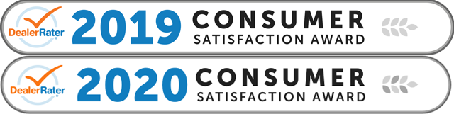 Dealer Rater 2020 Consumer Satisfaction Award