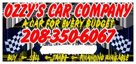 Ozzy's Car Company Logo