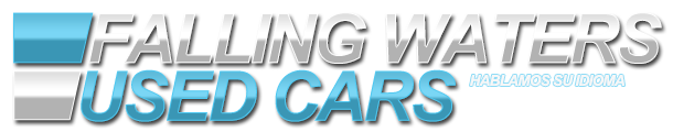 Falling Waters Used Cars Logo