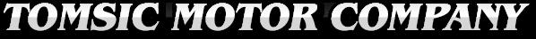 Tomsic Motor Company Logo