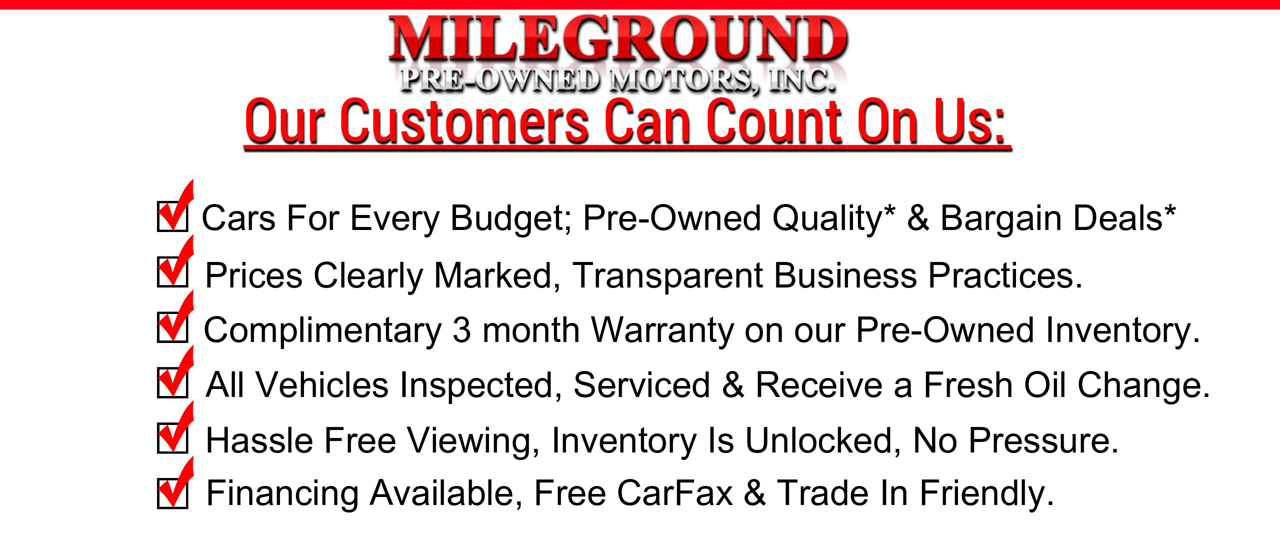Mieground Pre-Owned Motors