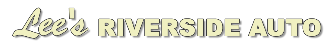 Lee's Riverside Auto Logo