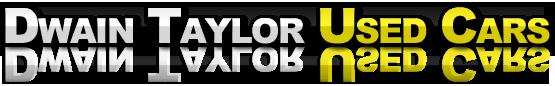 Dwain Taylor Used Cars Logo