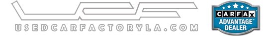 Used Car Factory Logo