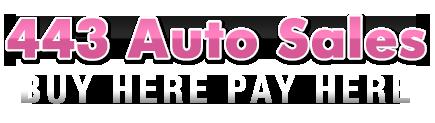 443 Auto Sales Logo