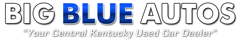 Big Blue Autos Logo