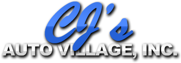 CJ's Auto Village, Inc. Logo