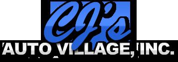 CJ's Auto Village, Inc. Logo