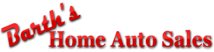 Barth's Home Auto Sales & Service Logo
