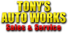 Tony's Auto Works Sales & Service Logo