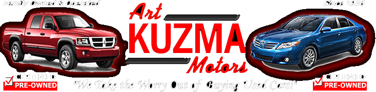 Art Kuzma Motors Certified Pre-Owned Vehicles Logo