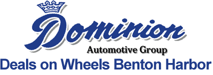 Louie Dominion's Deals on Wheels Logo