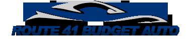 Route 41 Budget Auto Logo