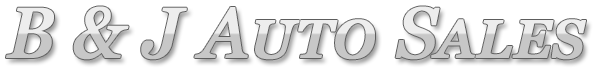 B & J Auto Sales Logo